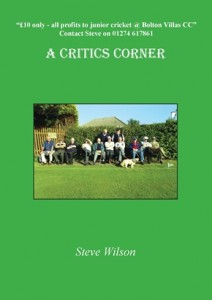 Critics Corner by Steve Wilson