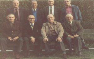The original Critics' Corner mob...inc Charlie Dalton, Haighy, Donald Jowett and dear old Eddie Naylor who's wreath was laid to rest in CC.
